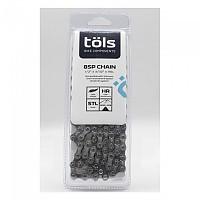 [해외]TOLS 8SP Road/MTB Chain 1137622154 Silver