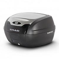 [해외]샤드 Top Case SH40 Alu 룩 9137764659 Black / Silver
