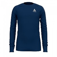 [해외]오들로 Shirt L/S Crew Neck Warm Kids 5137498424 Estate Blue