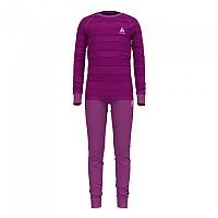 [해외]오들로 Set Active Warm Eco Kids 5137501657 Hyacinth Violet / Charisma / Stripes