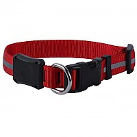 [해외]NITE IZE Nitedawg Led Dog Collar Medium 4135919302 Red
