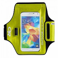 [해외]아웃도어 리서치 Sensor Dry Pocket Armband 4136047652 Lemongrass