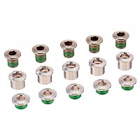 [해외]TRUVATIV Aluminum Chain Ring Bolt Kit For Dzero/XX1 5 Units 1137388248 Silver
