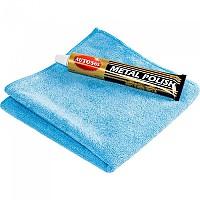 [해외]AUTOSOL Chrome Gloss 75ml With Microfiber Cloth 9137769085 Blue / Black / Gold