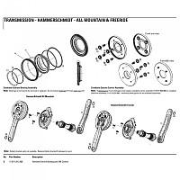[해외]TRUVATIV HammerSchmidt Carbon Crankset Bashguard 1137786615 Black