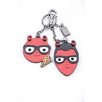 [해외]돌체앤가바나 727129 Leather Key-Chain Red