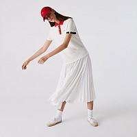 [해외]라코스테 Made in France Organic Cotton 137685101 White / Red / Navy Blue