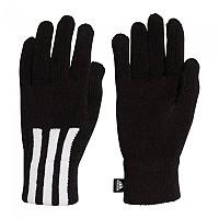 [해외]아디다스 3 Stripes Condu Gloves Black / White / White