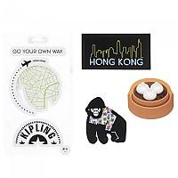 [해외]키플링 Sticker Set Monkey Mix Col Ss20