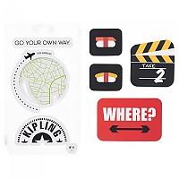[해외]키플링 Sticker Set Take 2 Mix Col Ss20