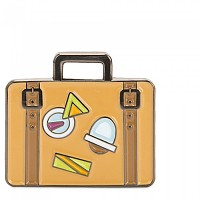 [해외]키플링 Suitcase Pin Mix Col Ss20