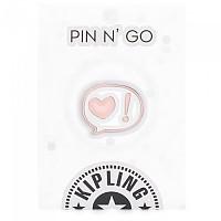 [해외]키플링 Talking Heart Pin Mix Col Ss20