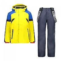 [해외]CMP Kid Set Jacket+Pant 5137702938 Yellow