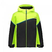 [해외]CMP Kid Set Jacket+Pant 5137702943 Yellow Fluo
