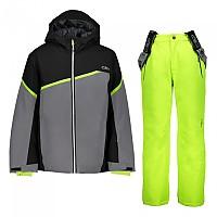 [해외]CMP Kid Set Jacket+Pant 5137702944 Graffite