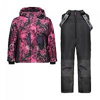 [해외]CMP Girl Set Jacket+Pant 5137780000 Antracite / Ibis / Rose / Berry