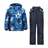 [해외]CMP Kid Set Jacket+Pant 5137780005 B.Blue / Denim / River