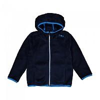 [해외]CMP Child Jacket Fix Hood 5137780045 Black Blue