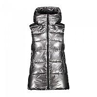 [해외]CMP Woman Vest Fix Hood 4137702466 Acciaio