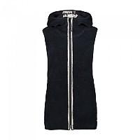 [해외]CMP Woman Vest Fix Hood 4137702868 Black Blue