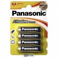 [해외]PANASONIC Pack 4 LR-06 AA 1137706717 Silver