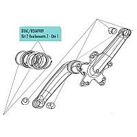 [해외]LOOK Bearing Kit For Zed 2/3 1136483528 Red