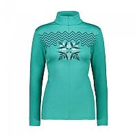 [해외]CMP Woman Sweat 4137702706 Emerald Melange