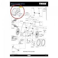 [해외]툴레 Coaster XT Body Cover 1137441773 Blue