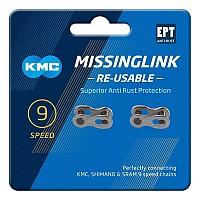 [해외]KMC Missinglink Re-Usable 2 Unts 1137604287 Silver