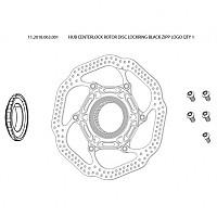 [해외]스램 Hub Centerlock Rotor Disc Lockring 1137670894 Black