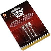 [해외]KRAFWIN Racords Coarse Thread 3 Units 3137542600 Silver