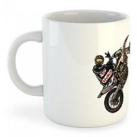 [해외]KRUSKIS Motocross Mug 325ml 9137814896 White