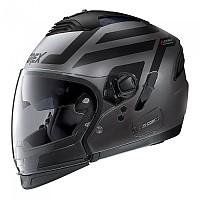 [해외]GREX G4.2 Pro Crossroad N-Com Convertible Helmet 9137806357 Flat Lava Grey / Black