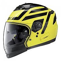 [해외]GREX G4.2 Pro Crossroad N-Com Convertible Helmet 9137806359 Led Yellow / Black