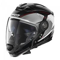 [해외]놀란 N70-2 GT Lakota N-Com Convertible Helmet 9137806433 Metal Black / Grey / White