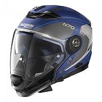 [해외]놀란 N70-2 GT Lakota N-Com Convertible Helmet 9137806436 Flat Imperator Blue