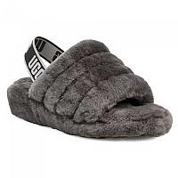[해외]UGG Fluff Yeah Slippers Charcoal