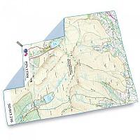 [해외]라이프벤쳐 SoftFibre Ordnance Survey Map Towel 4137090275 Pen Y Fan