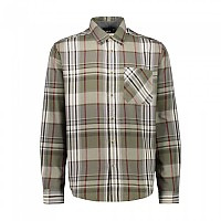 [해외]CMP Man Shirt 4137702908 Olive / Burgundy