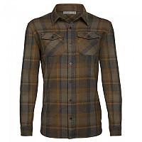 [해외]아이스브레이커 Lodge Flannel 4137840999 Jet Heather / Driftwood