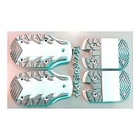 [해외]테크니카 Ten2-Magnum Soles 5137762080 White / Silver