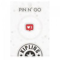 [해외]키플링 Heart 1 Pin Mix Col Ss20