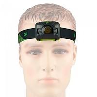 [해외]GP BATTERIES Stirnlampe CH34 3xAAA 4137859290 Black / Green