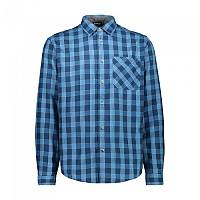 [해외]CMP Man Shirt 4137702904 River / Blu Ink