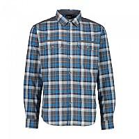 [해외]CMP Man Shirt 4137702910 Blue Ink / Black / River