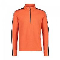 [해외]CMP Man Sweat 4137703056 Orange Fluo Melange