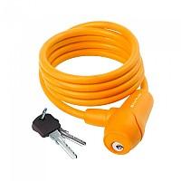 [해외]M-WAVE S 8.15 S Spiral Cable Lock 1137641598 Orange