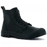 [해외]PALLADIUM Pampa Zip Leather Ess Man137867337 Black / Black