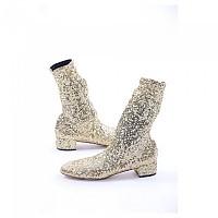 [해외]돌체앤가바나 728647 Women Boots Woman137871573 Gold