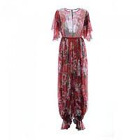 [해외]돌체앤가바나 731468 Women Silk Floral Jumpsuit 137871436 Red